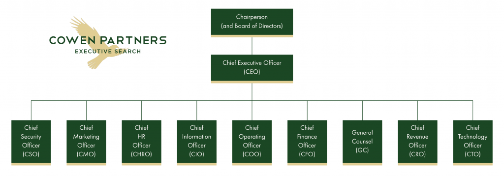 CEO COO CFO CTO CMO | C-Suite Org Chart | Cowen Partners